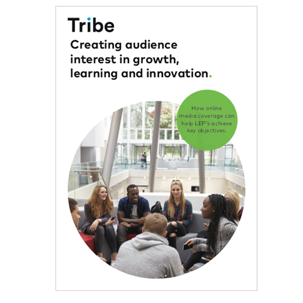 Creating audience interest in growth, learning and innovation